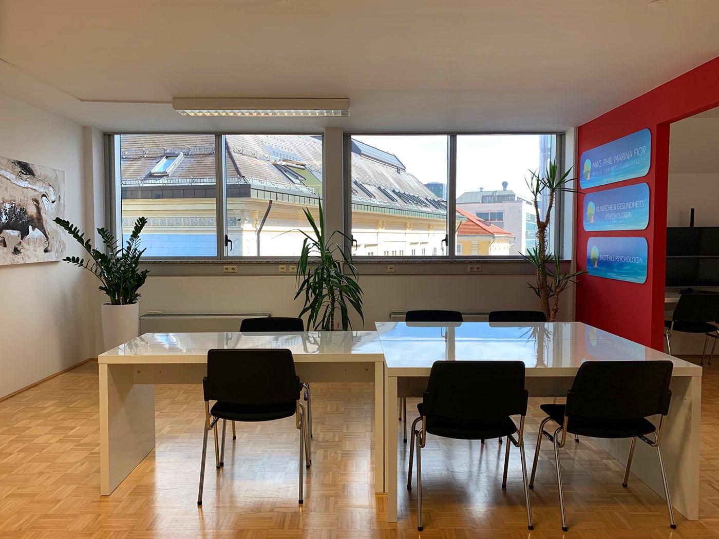 Psychologin Klagenfurt | Praxis Besprechungszimmer